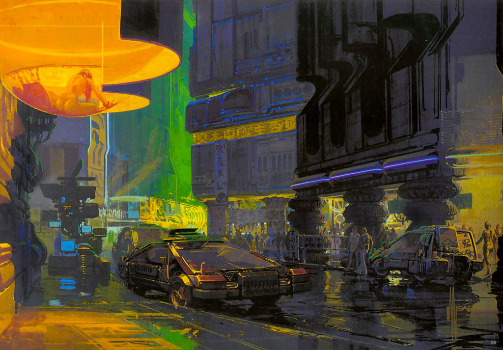 Syd Mead desings for Blade Runner-1