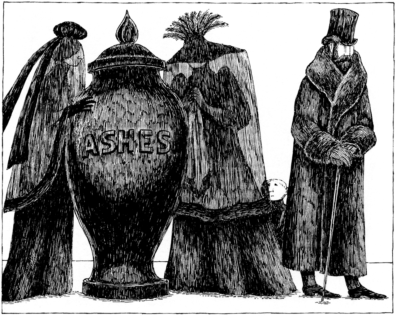 Ashes (Edward Gorey)