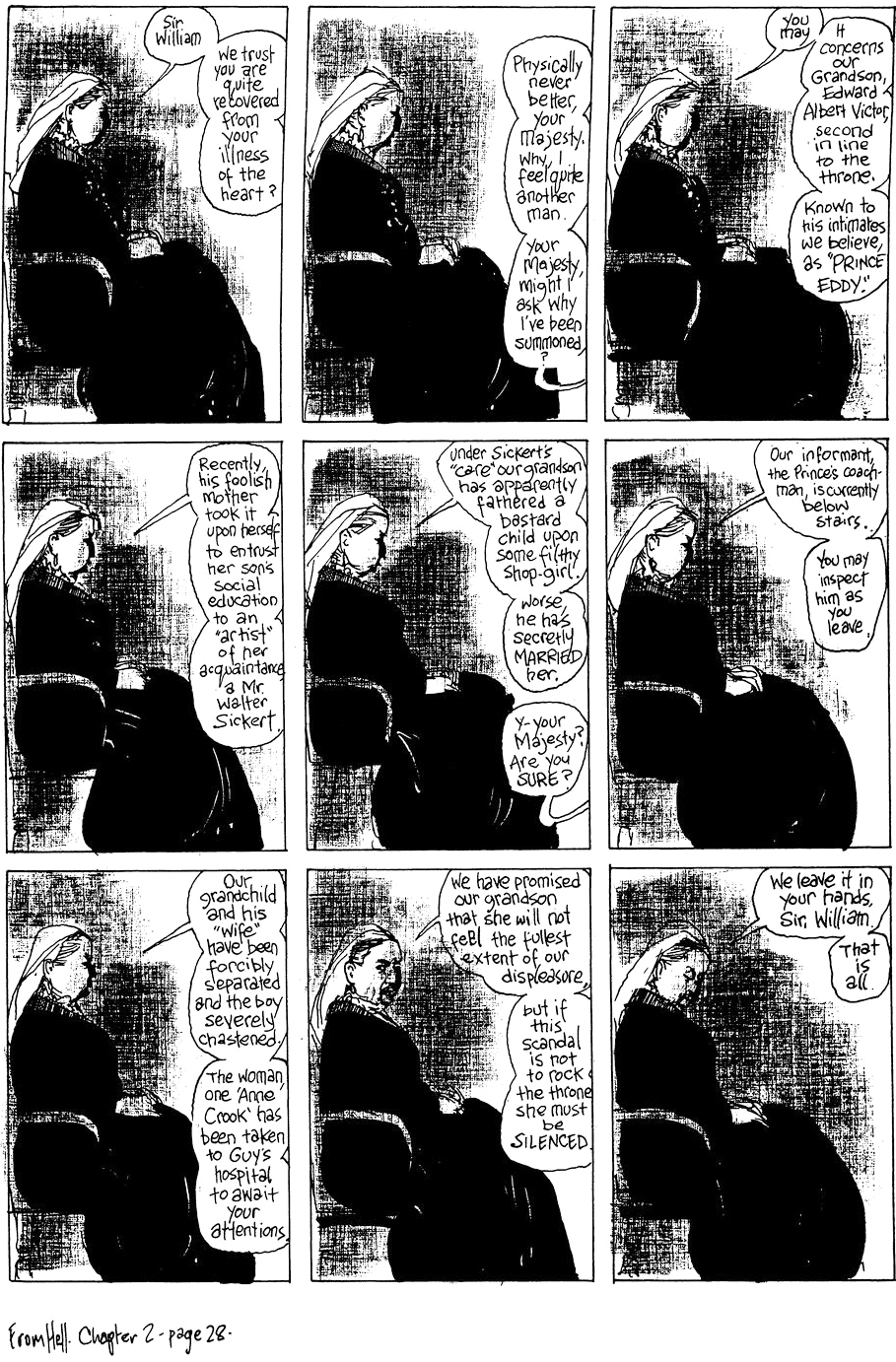 From Hell, (Eddie Campbell)