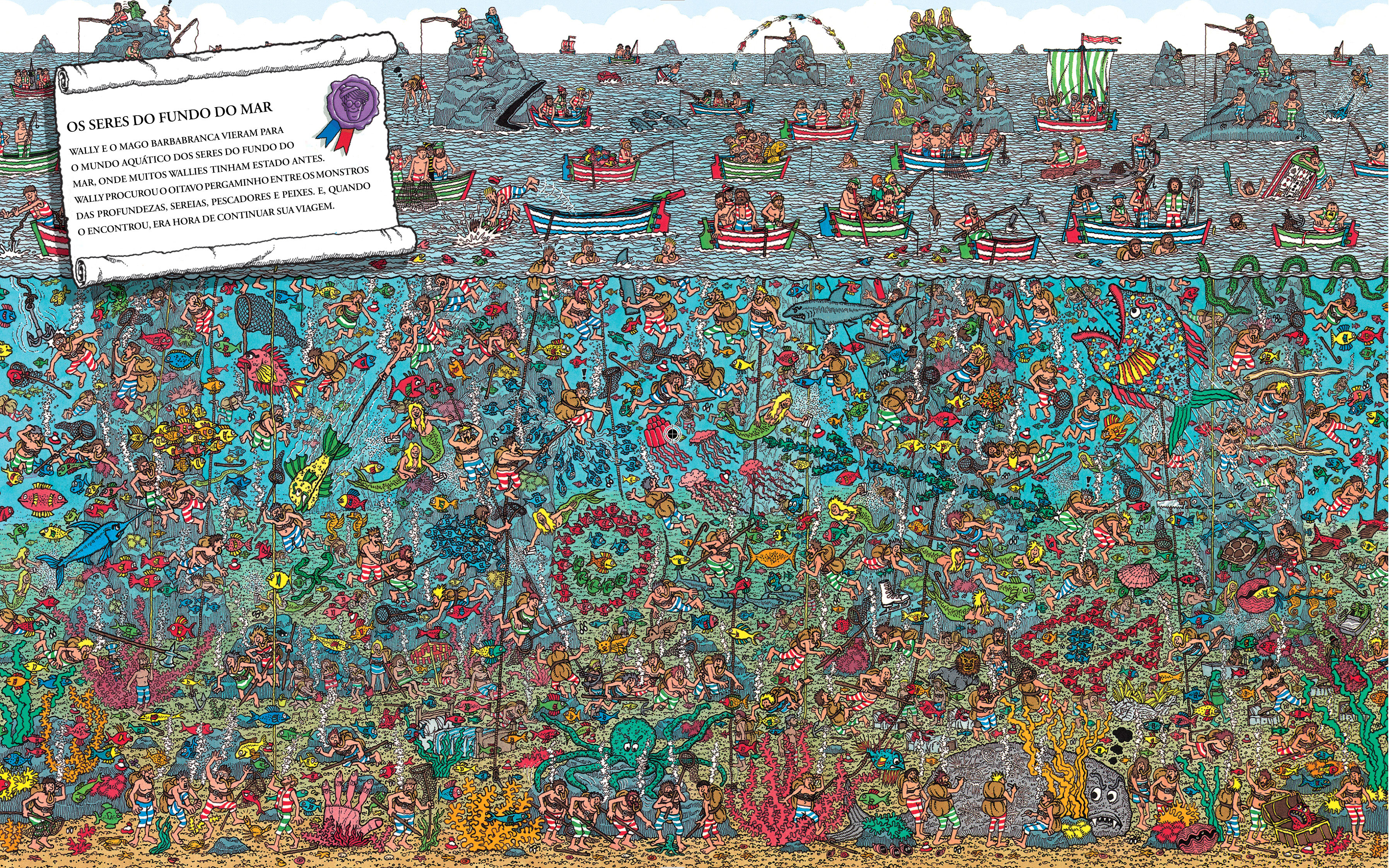 Where is Waldo? (Martin Handford)