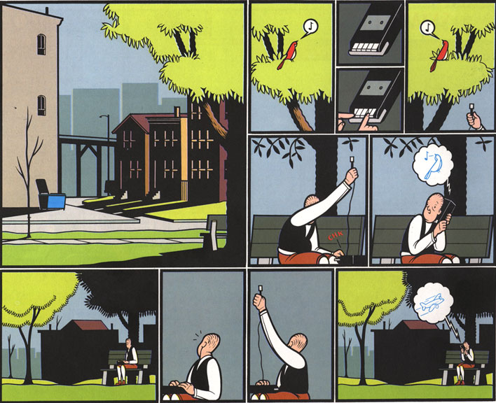 Jimmy Corrigan (Chris Ware)
