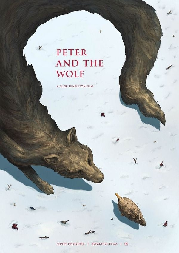 Peter and the Wolf Poster (Phoebe Morris)