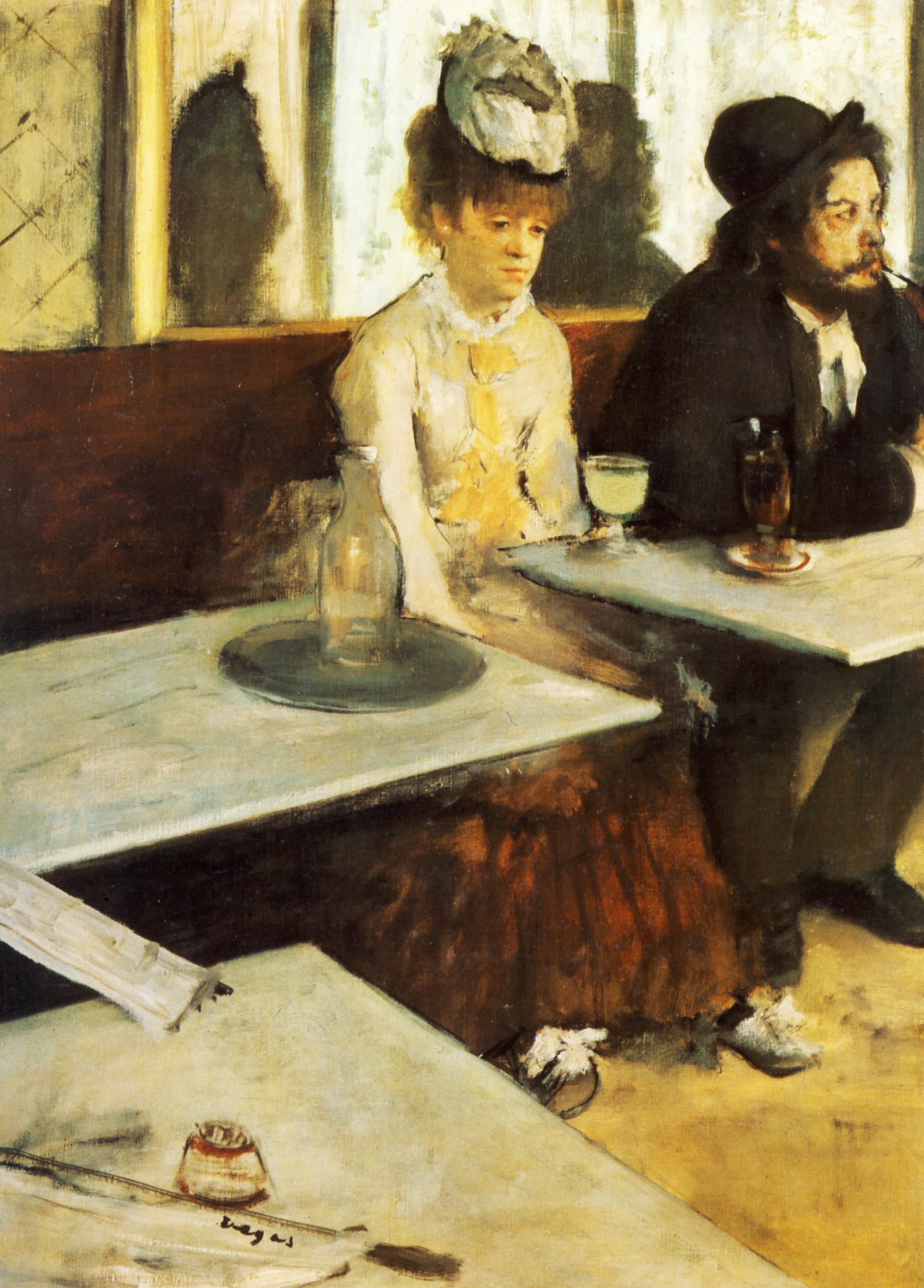 Degas, The Absinth Drinker (1867)