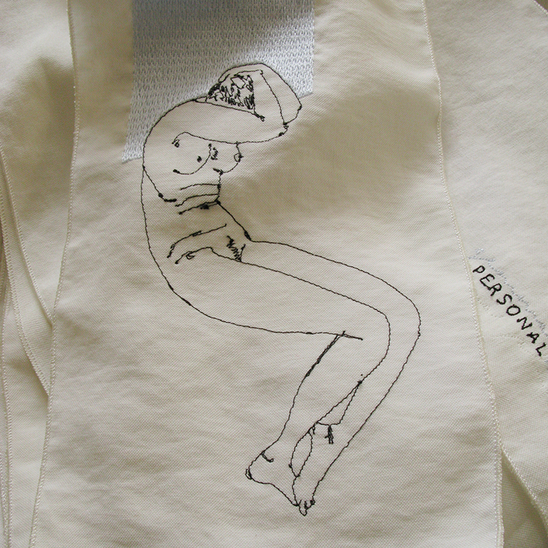 Nude-3 embroidery