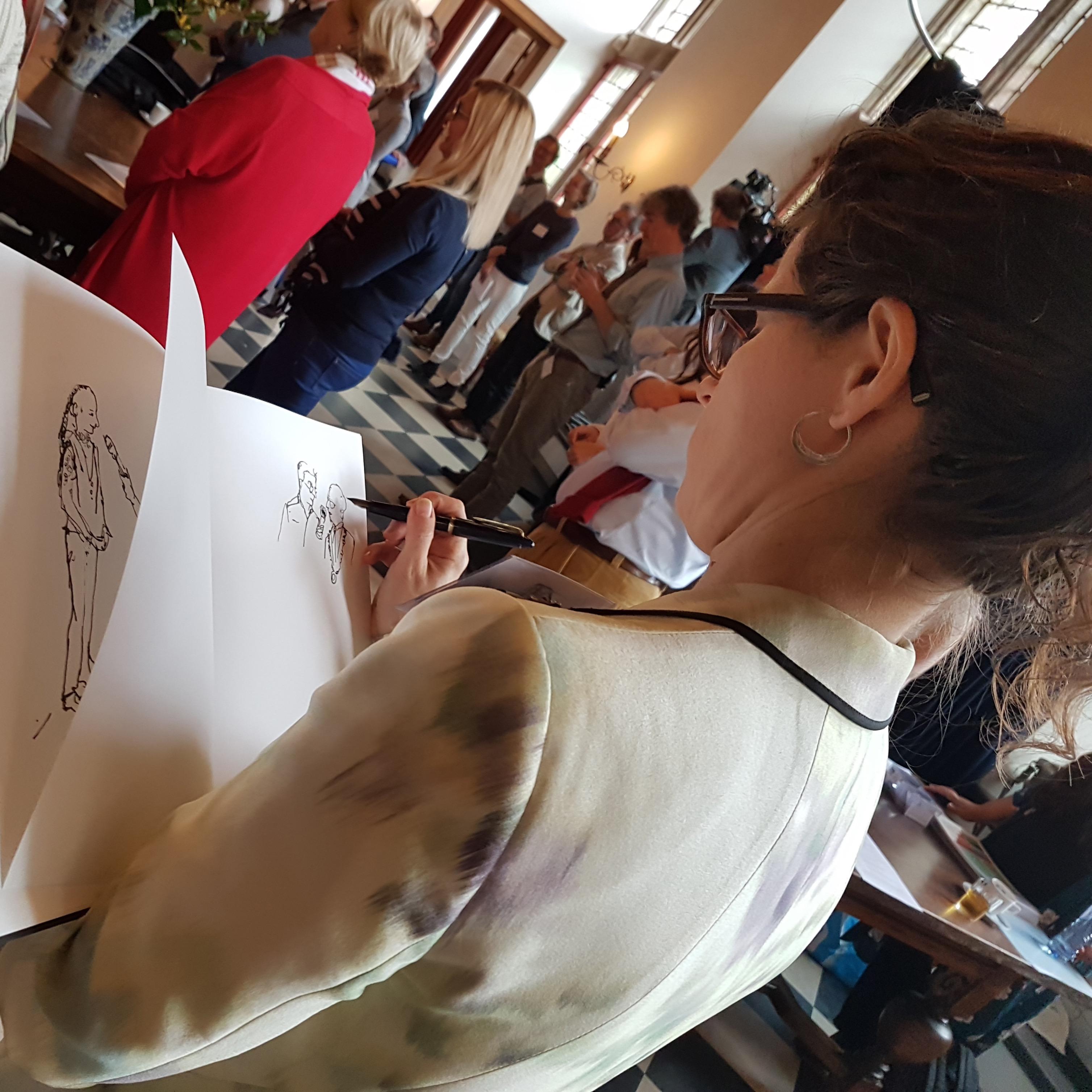 Graphic Journalism - Child Mayor Day-Drawing