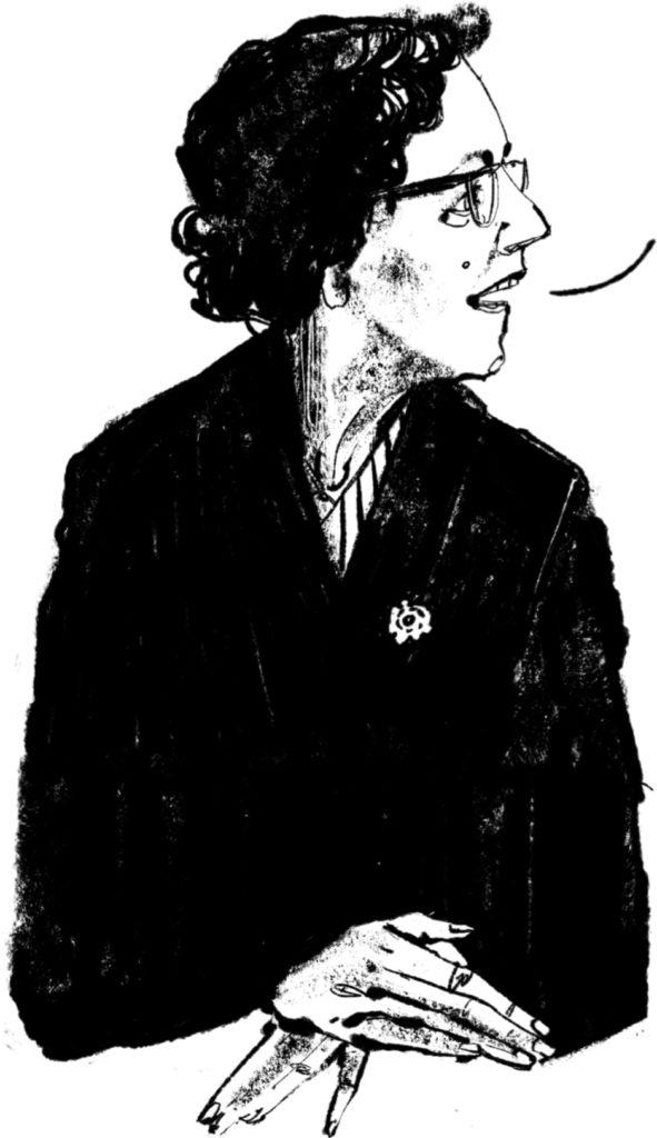 Anna Blaman welkom portrait