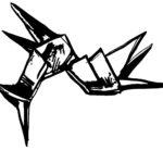 Blade Runner unicorn illustration by Gemma Plum