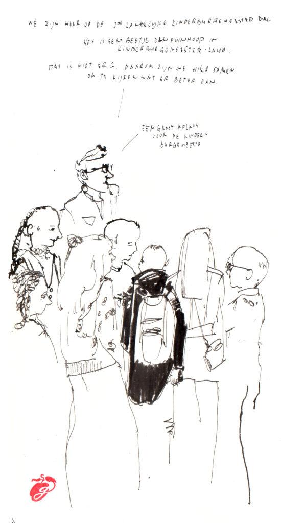 Graphic Journalism - Child Mayor Day-Taco