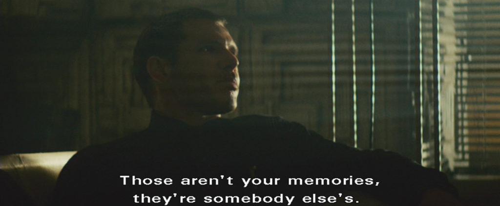 Blade Runner Deckard being hartless