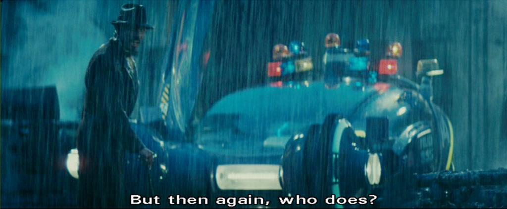 Blade Runner Gaff's hint 2