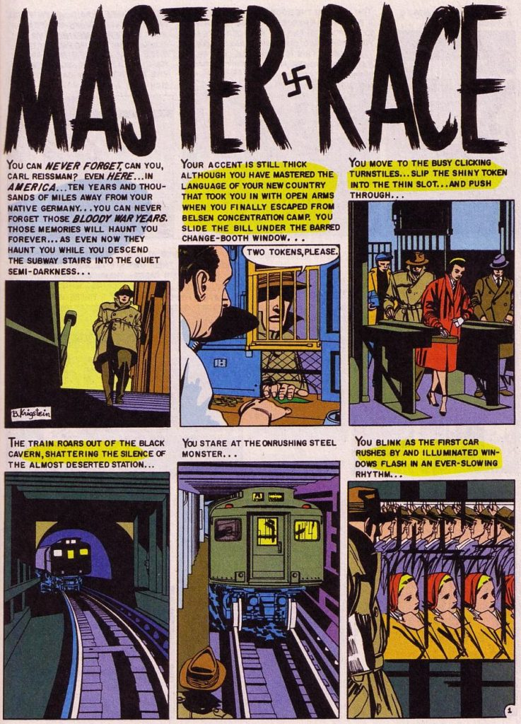 Master Race -PAGE 1 (Bernard Krigstein)