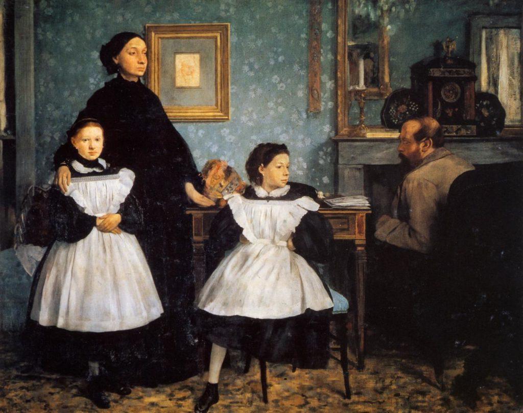 Degas, Family Portrait (1858-1867)