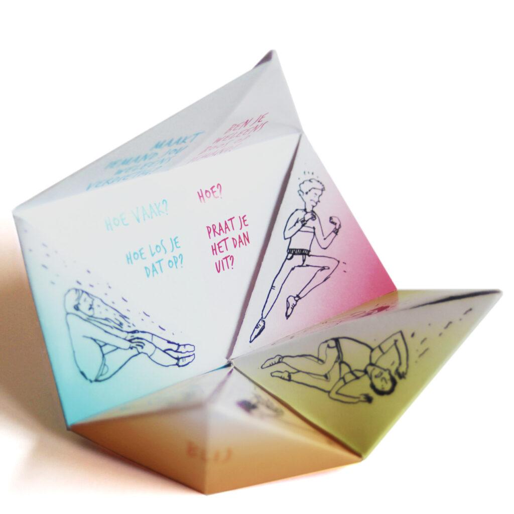 Gemma Plum & Roeland Otten Paper Game